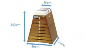 跳び箱8段
